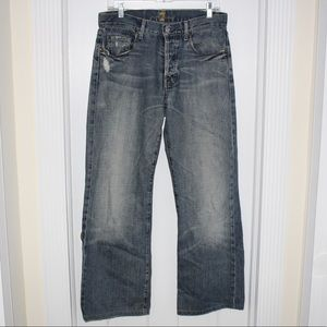 7 FOR ALL MANKIND Womens Havana Jeans Relaxed EUC